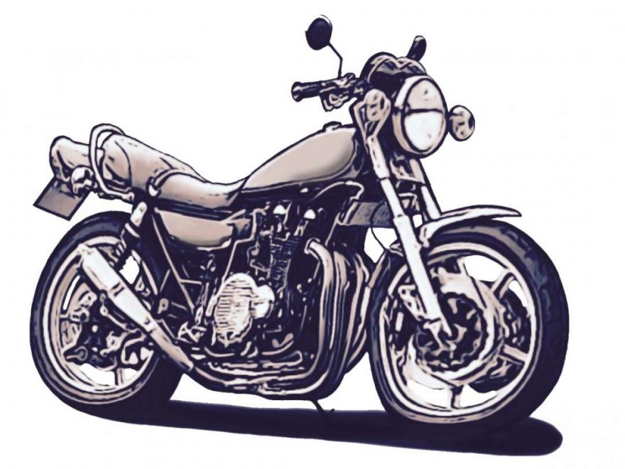 バイク15